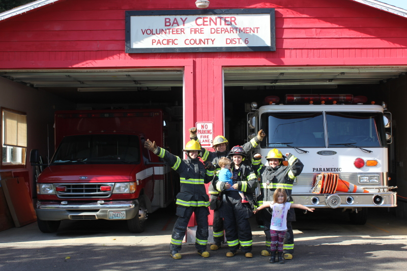 National Volunteers Week: Bay Center Fire Department