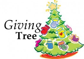 Giving Tree  for foster kids