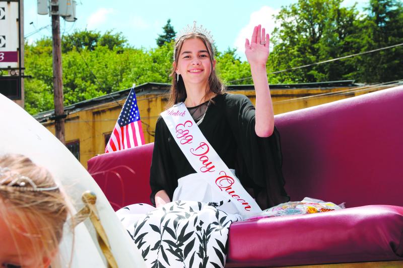 Winlock Egg Day Queen Elora Smith