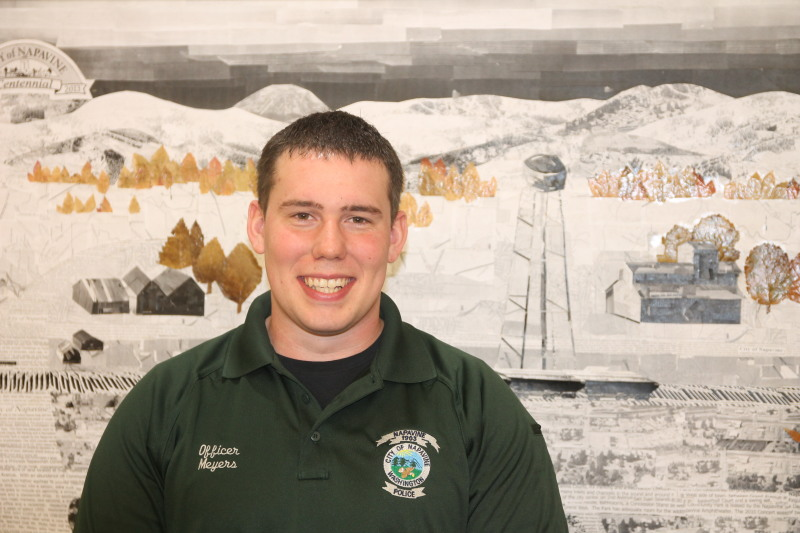 Meyers becomes new Napavine Officer