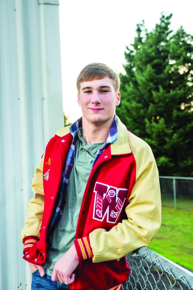 Nathan Suhrbier, WHS outstanding senior