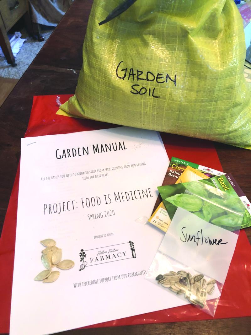 Free garden kits to Winlock students