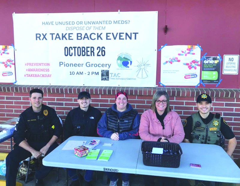 Local Drug Take Back event pulls prescription medications out of circulation