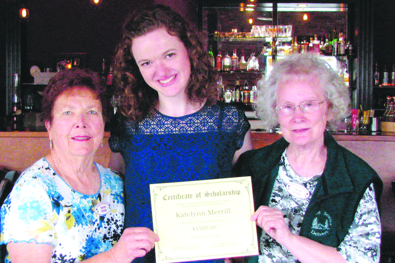 Winolequa Garden Club awards annual scholarship