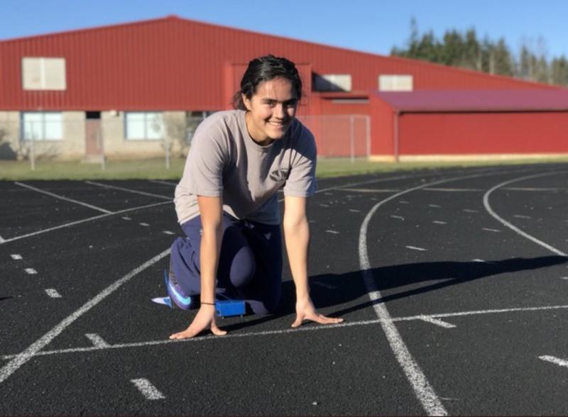 Yoselyn Sandoval upcoming track star