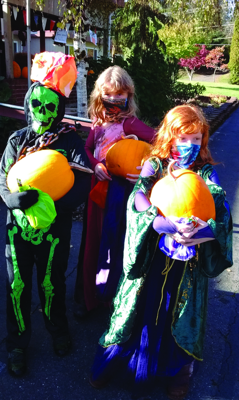 Halloween visits Willapa Harbor Care Center