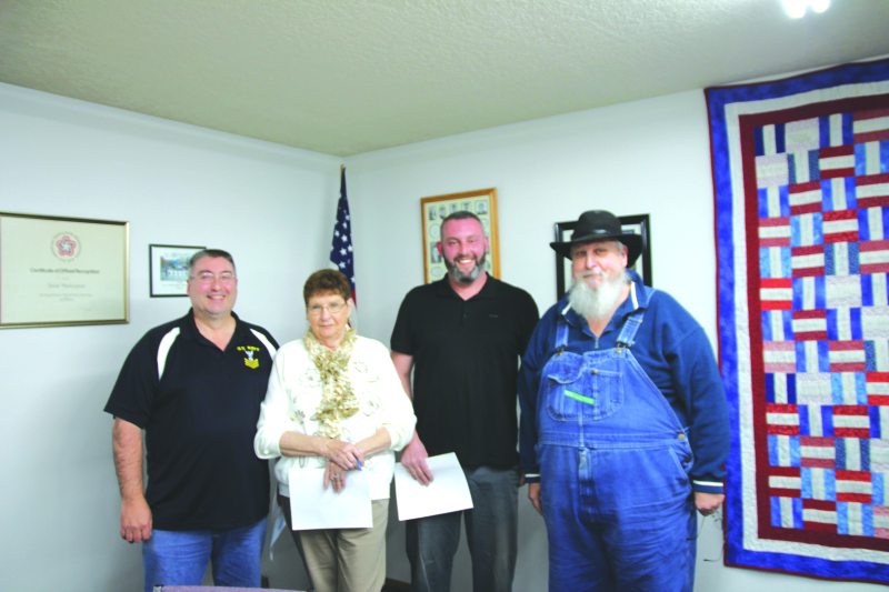 Winlock City Council members sworn in at Toledo
