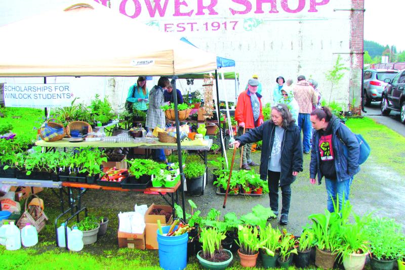 Winolequa Garden Club annual plant sale