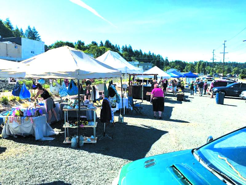 Winlock's First Saturday Market a big success