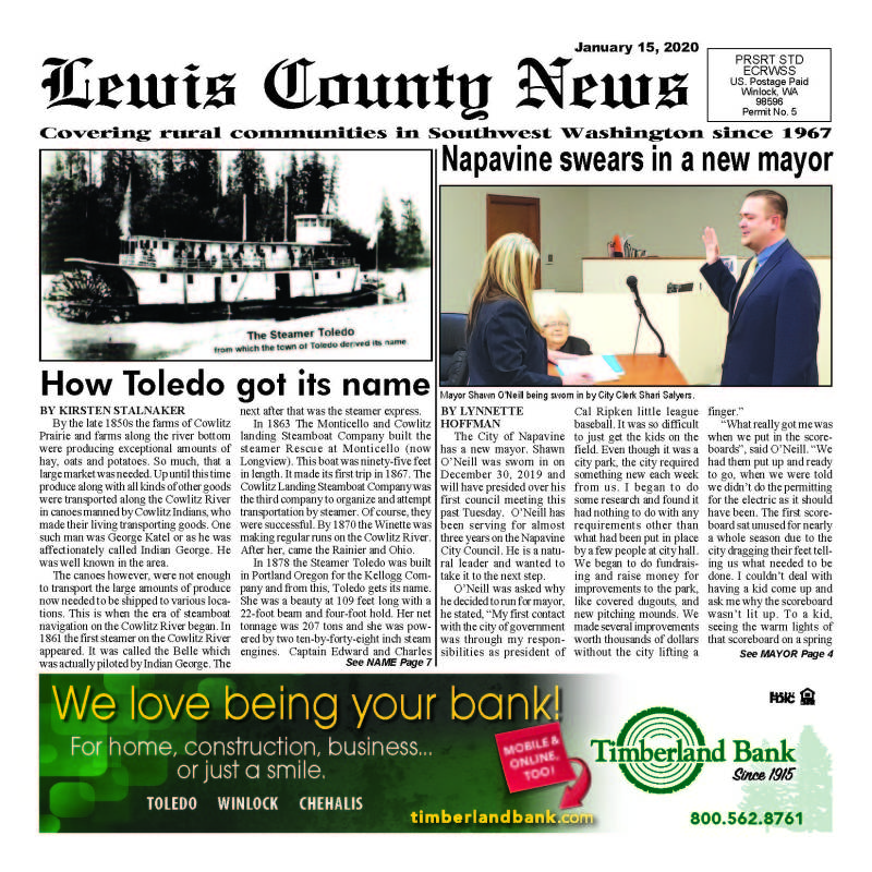 January 15, 2020 Lewis County News