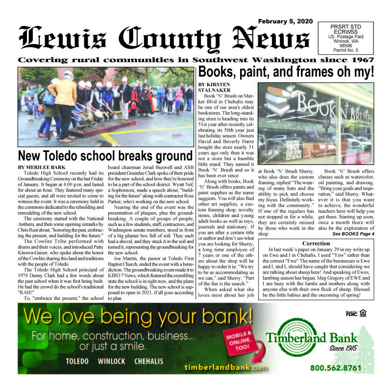 February 5, 2020 Lewis County News