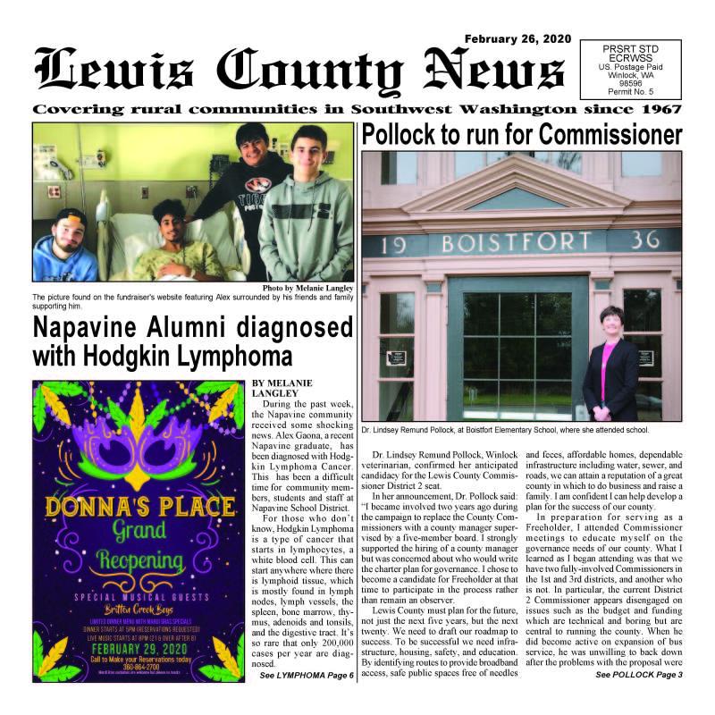 February 26, 2020 Lewis County News