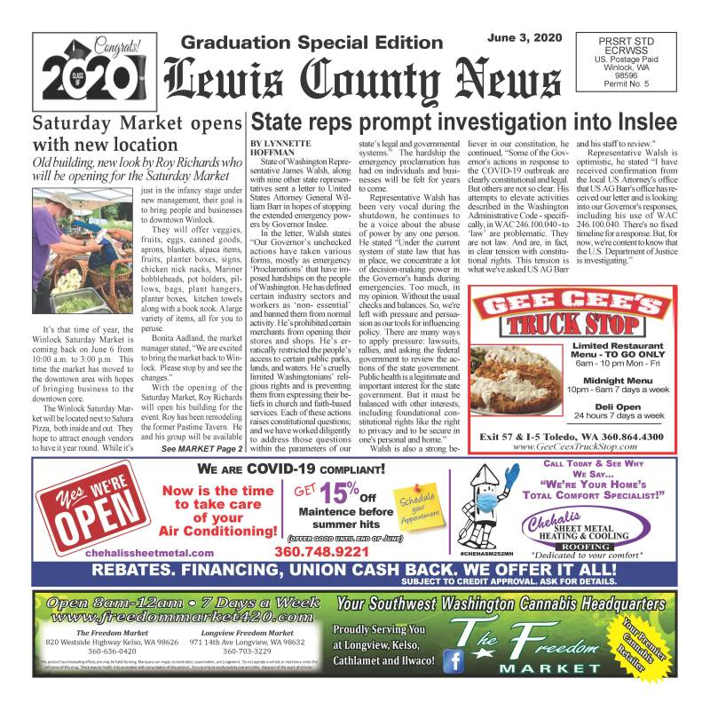 June 3, 2020 Lewis County News