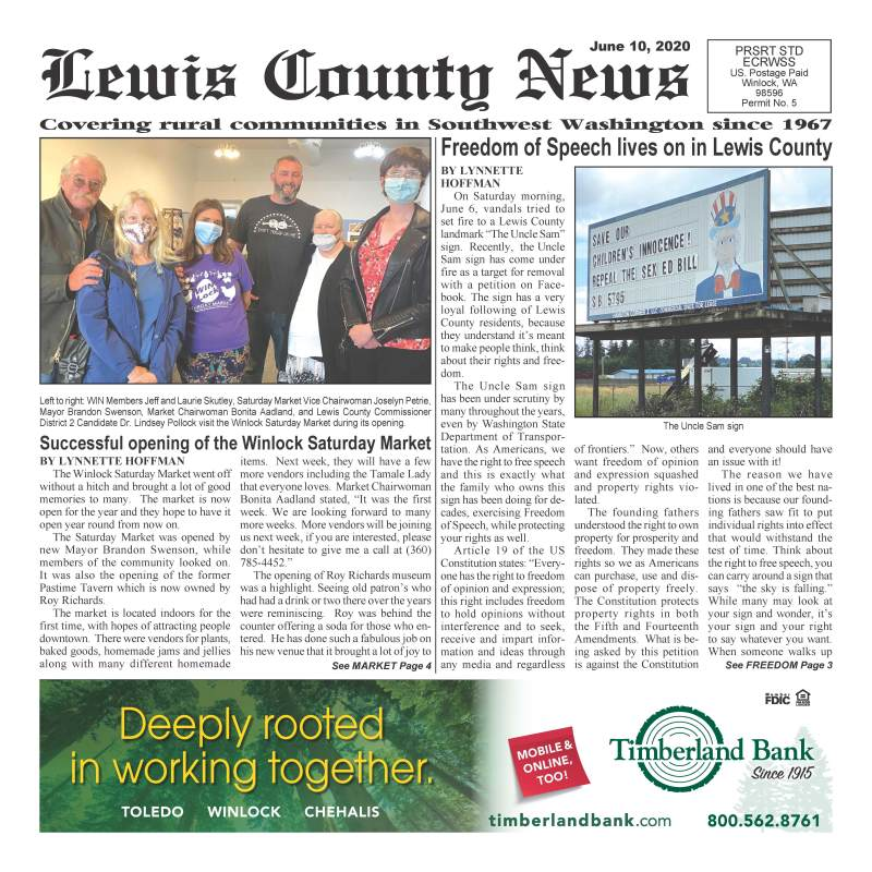 June 10, 2020 Lewis County News