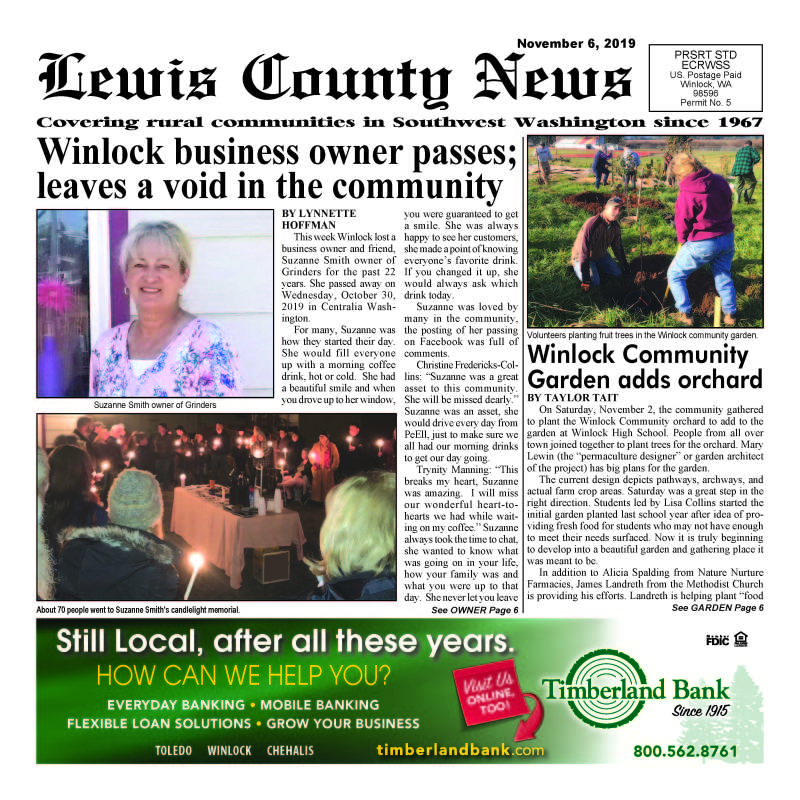 November 6, 2019 Lewis County News