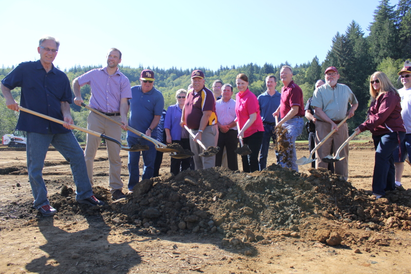 South Bend breaks ground on new baseball/fastpitch field