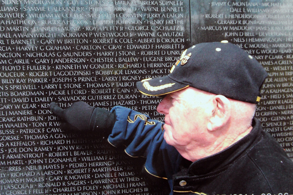 Vader councilor among WWII vets honored during trip to DC