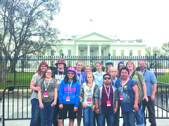 Winlock students make D.C. trip