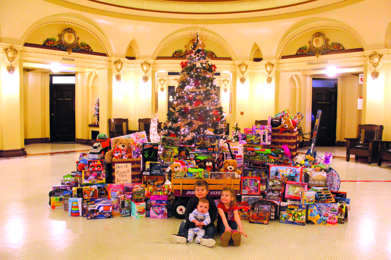 Nissell's memory inspires toy drive
