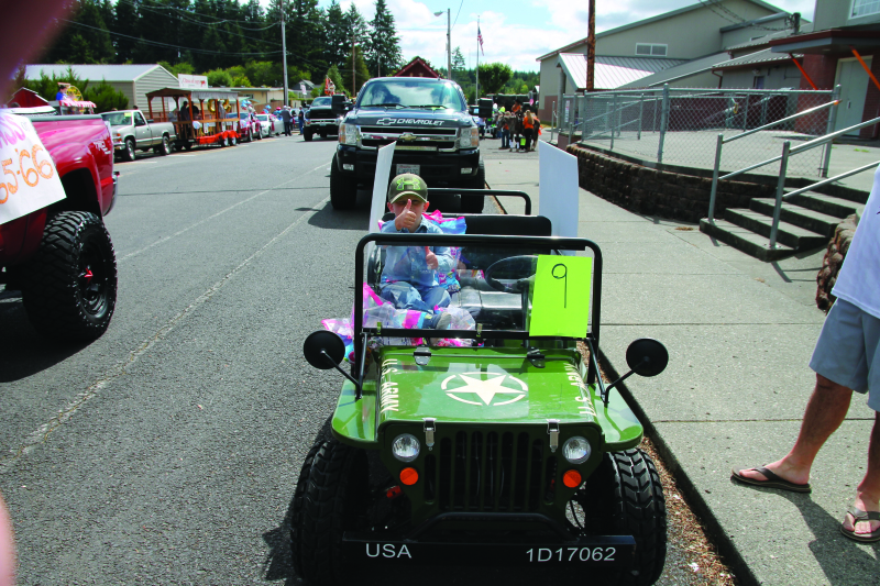 Napavine FunTime  Festival Parade
