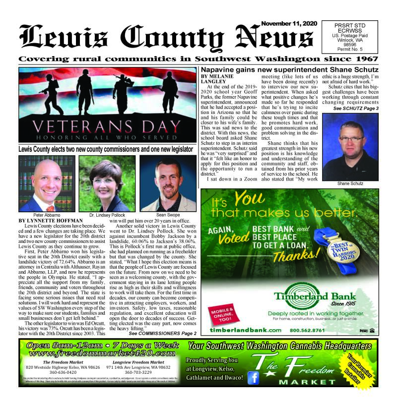 November 11, 2020 Lewis County News