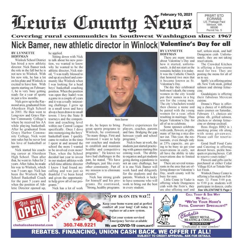 February 10, 2021 Lewis County News