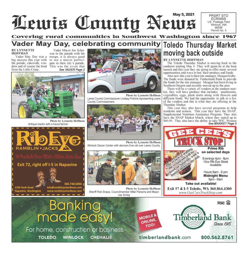 May 5, 2021 Lewis County News