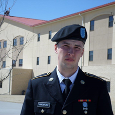 Pvt. Kunke completes special training