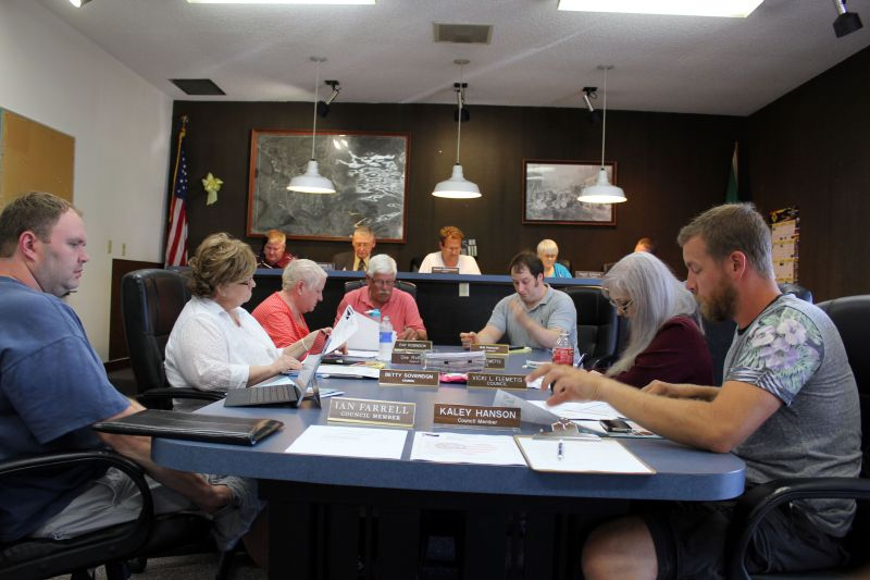 Raymond City Council onto the six-year plan
