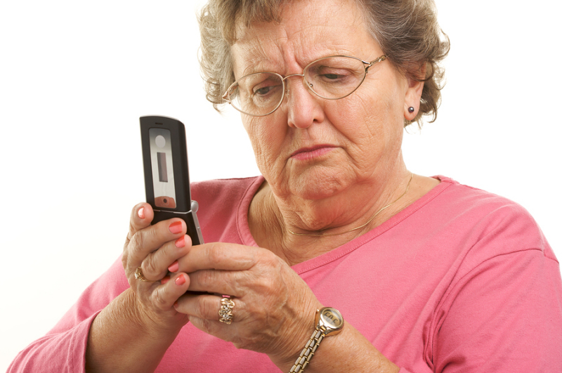 Simplified Cellphones for Seniors with Hearing Problems