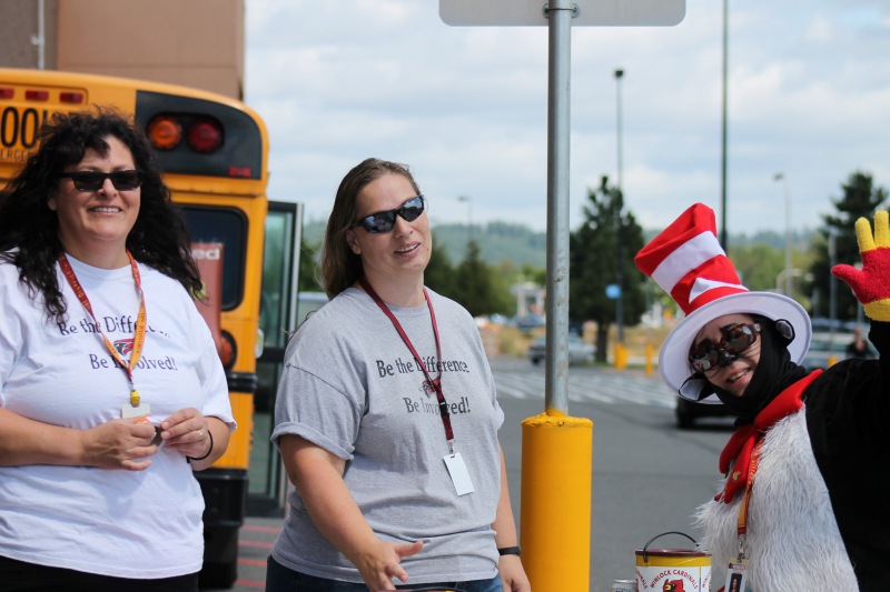 Stuff the Bus gets supplies and donations