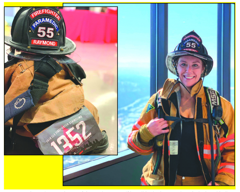 Local firefighter completes 10th climb; finds inspiration everywhere