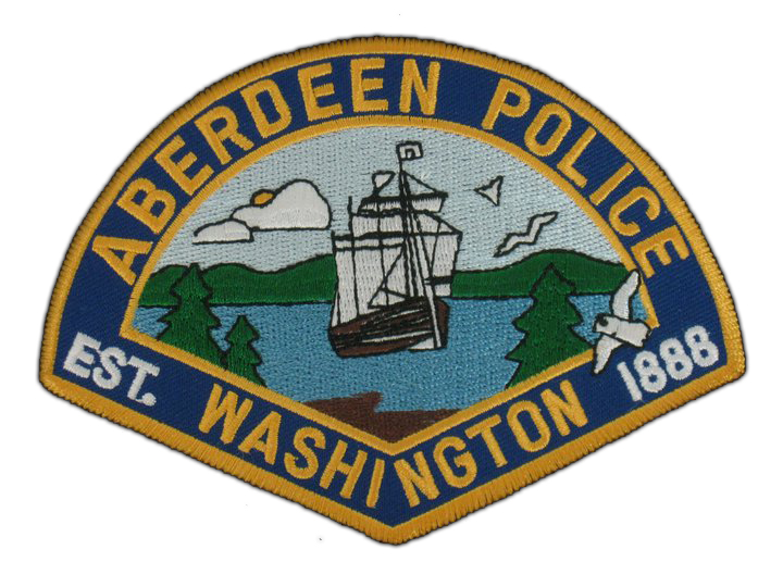 Aberdeen Police Officers Investigate Injury Collision