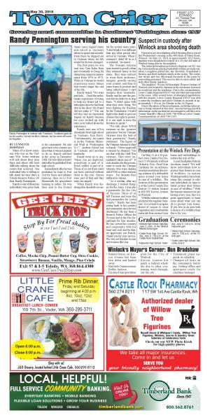 Town Crier May 30, 2018