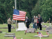 Local vets take time to remember the fallen