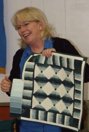 Annual show features quilts, vendors, sewing machine repair