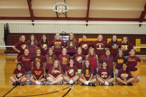 South Bend Lady Indian Volleyball