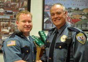 New officer