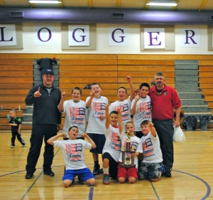 Willapa Valley Fifth Grade Boys Basketball