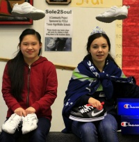 Students at Toledo HS gather shoes for kids in Haiti