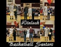 Winlock seniors honored at last home game
