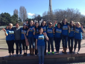 Raymond HS Leadership Class attends We Day