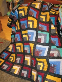 Quilting for a cause: Learners craft practical quilts for themselves and the needy