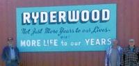 Volunteers restore Ryderwood's old 'Welcome' sign