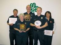 District 15 recognizes top responders