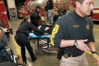 Local 911 responders preparing for active shooter drill