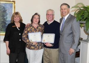 Howard and Katie Auble honored