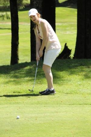 Lorton, Fluke advance to golf districts