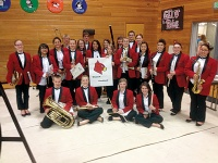 Winlock places at Massed Band festival in Wahkiakum