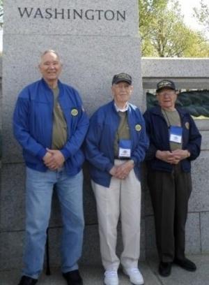 Three local veterans visit D.C., on Puget Sound Honor Flight